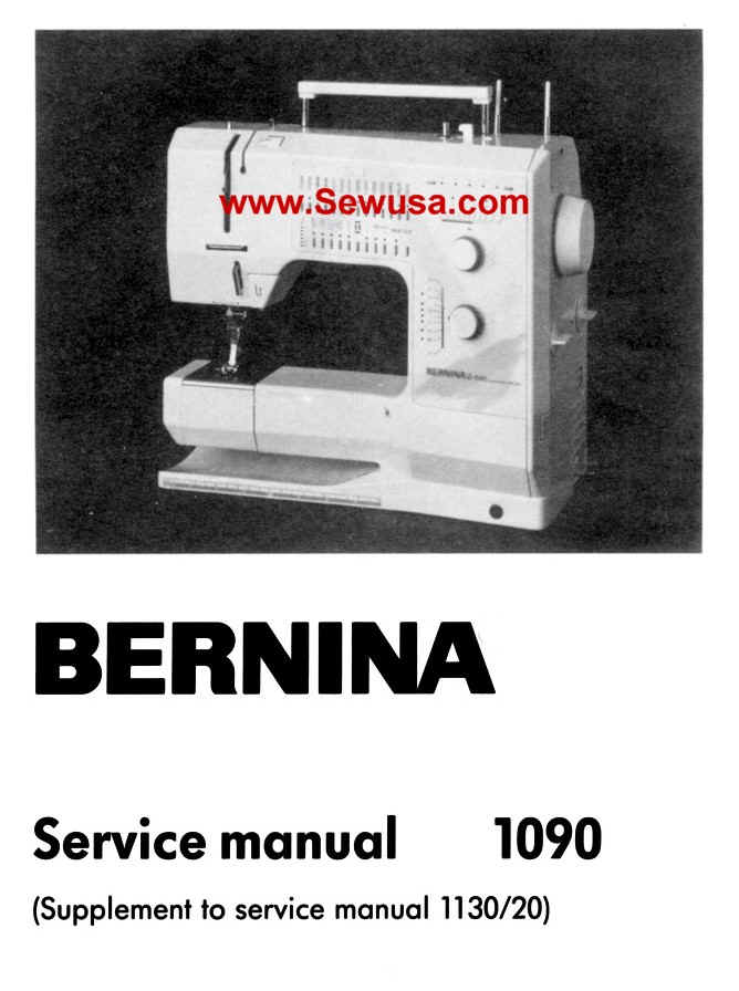 bernina 1130 sewing machine manual