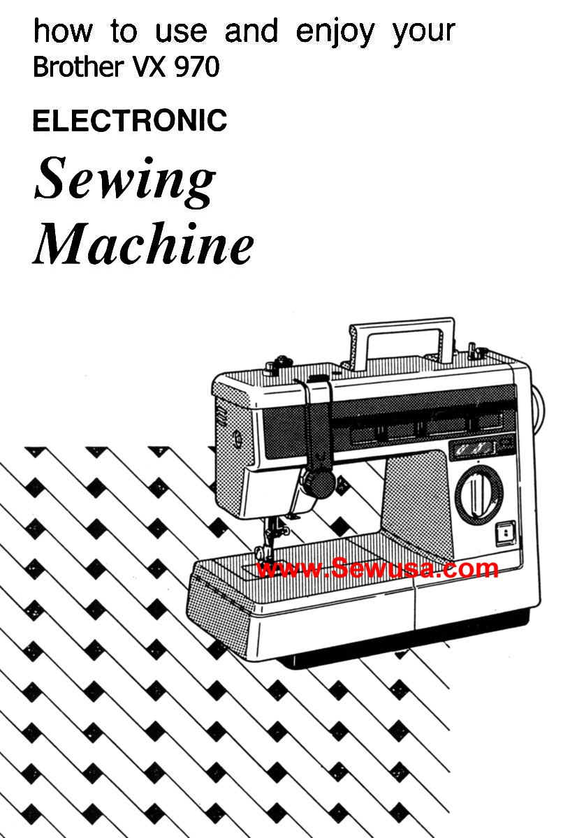 how to clean and maintain brother sewing machine