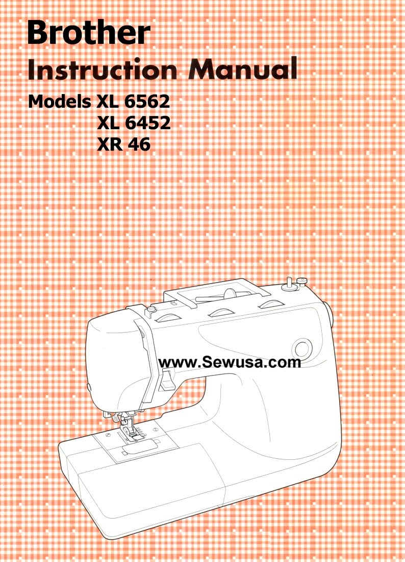 sewing machine xl 6452